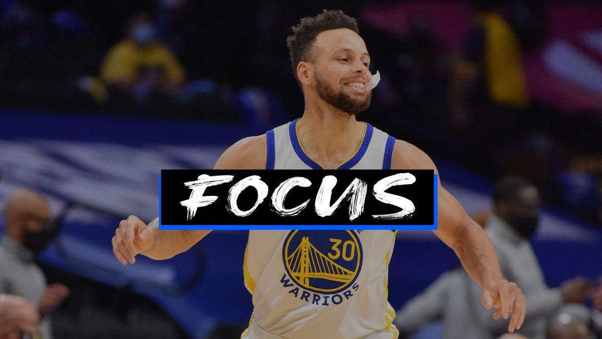 Stephen Curry, Golden State Warriors - Focus
