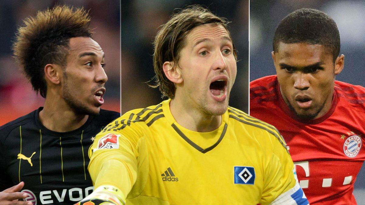 Bundesliga-Elf der Hinrunde mit Aubameyang, Costa und Adler