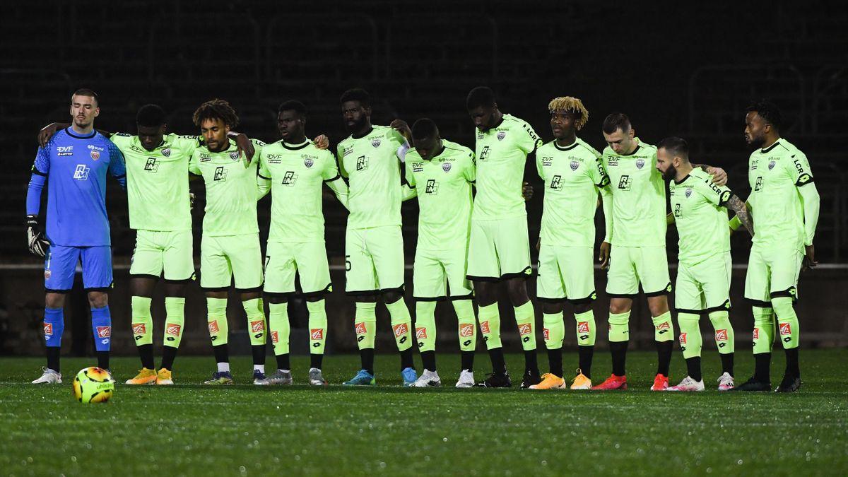 L'équipe de Dijon en Ligue 1