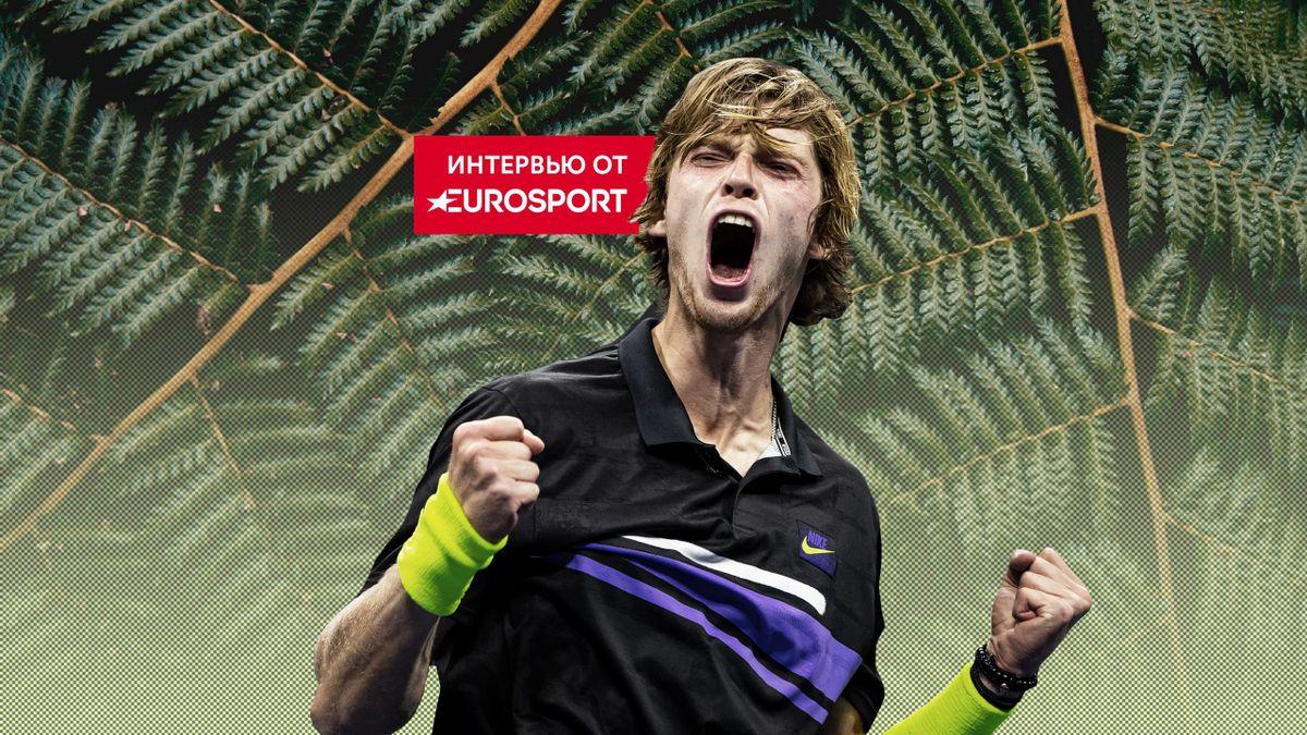 Эксклюзивное интервью Андрея Рублева о победе над Федерером, US Open и психологии