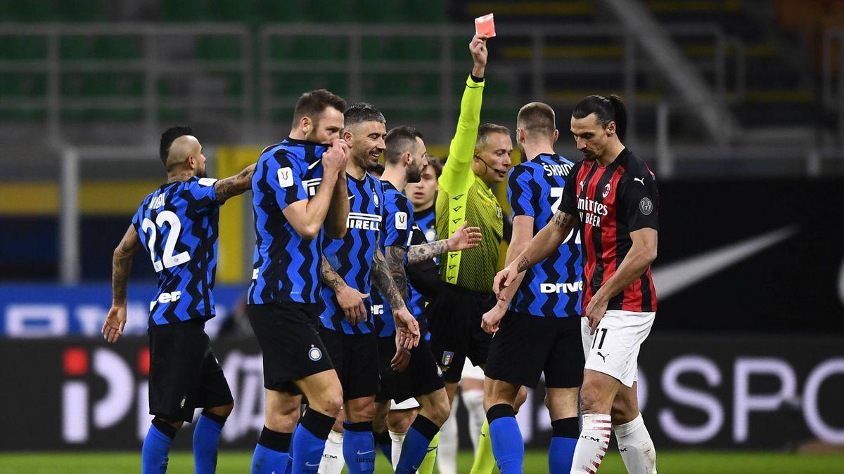 Ibrahimovic - Inter-Milan - Coppa Italia 2020-2021