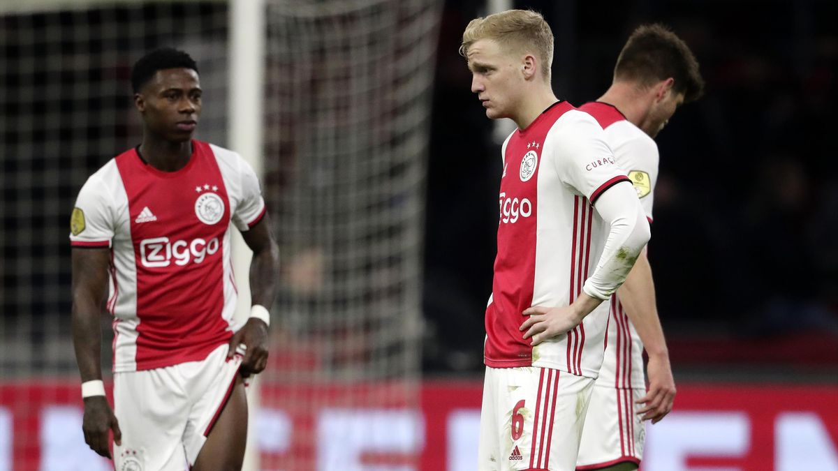 Durch den Saisonabbruch in der Eredivisie bleibt Ajax Amsterdam die Chance auf den 35. Meistertitel verwehrt. Im Bild: Donny Van De Beek