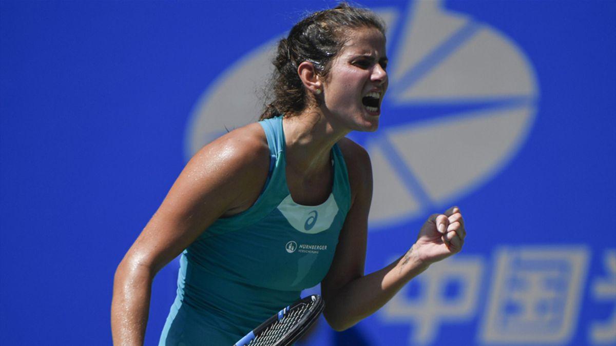 Julia Görges steht im Viertelfinale des Kremlin Cups