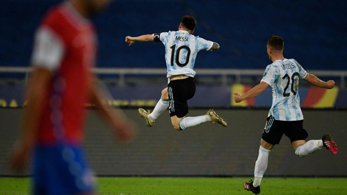 Messi (Argentina) la Copa America 2021