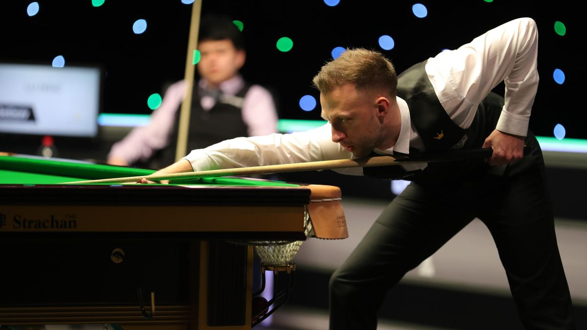 Judd Trump in action in the UK Championship