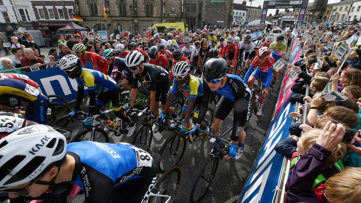 92nd UCI Road World Championships 2019 - Men's Junior Road Race a 148,1km race from Richmond to Harrogate