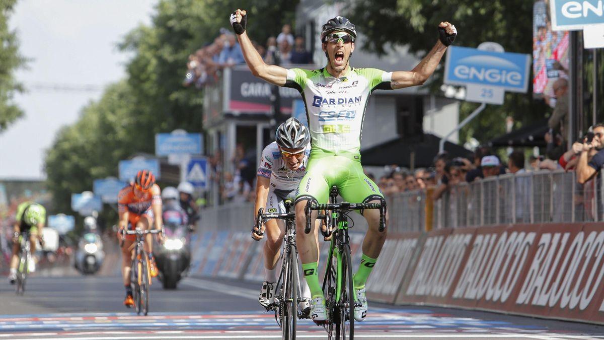 Giro d'Italia 2015, Tappa 10, Nicola Boem (LaPresse)