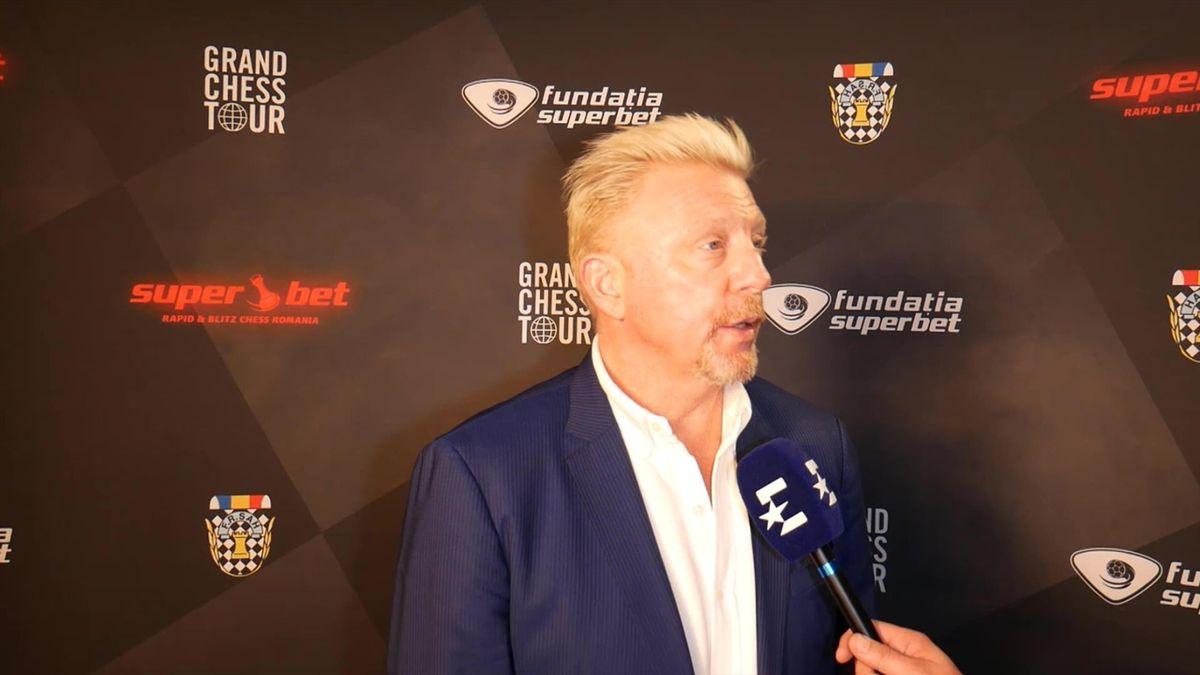 Interviu cu Boris Becker pentru Eurosport.ro
