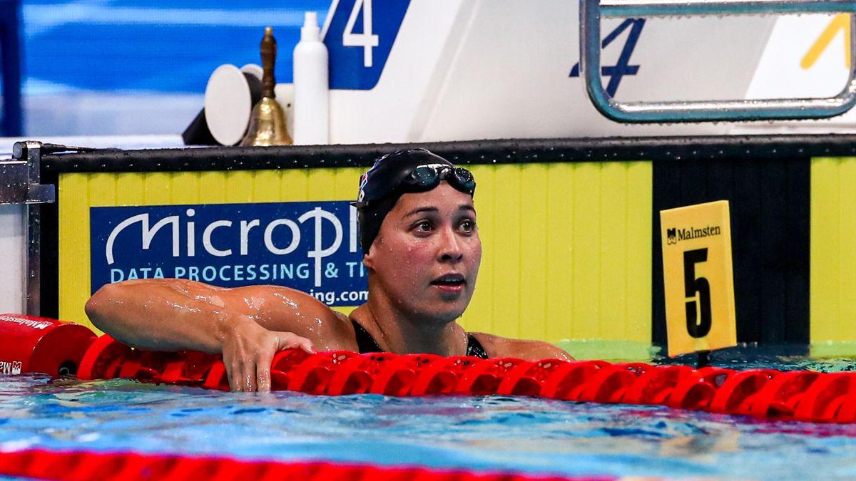 Ranomi Kromowidjojo op het Europees Kampioenschap