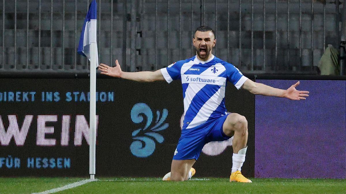 Serdar Dursun erzielt gegen Bochum einen Doppelpack