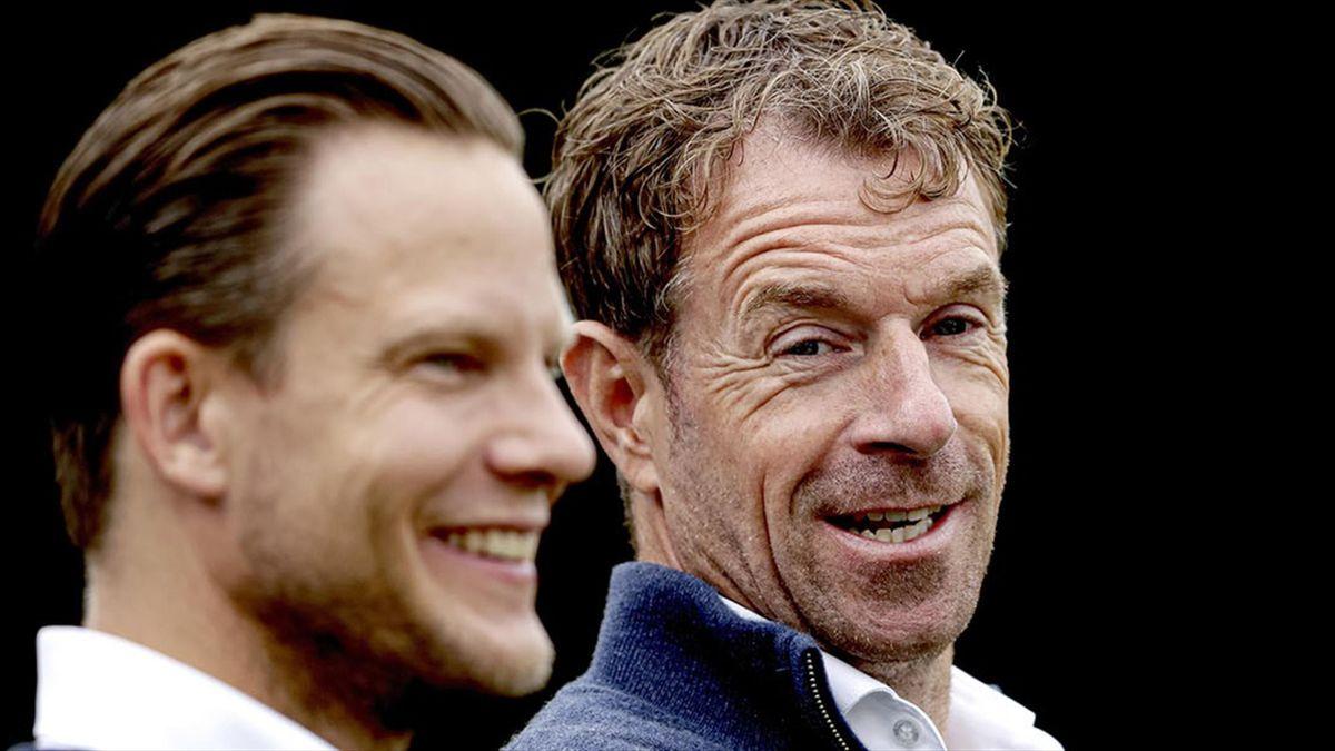 Bert Konterman (dreapta) este acum antrenorul Olandei U20