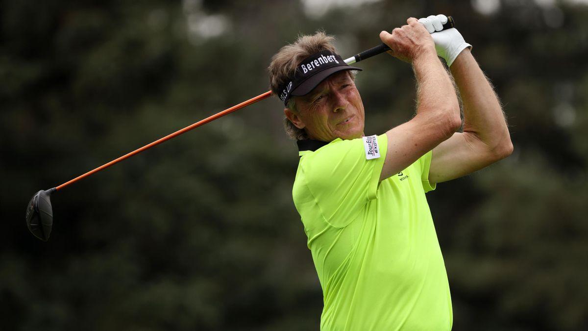 Bernhard Langer beim Masters in Augusta