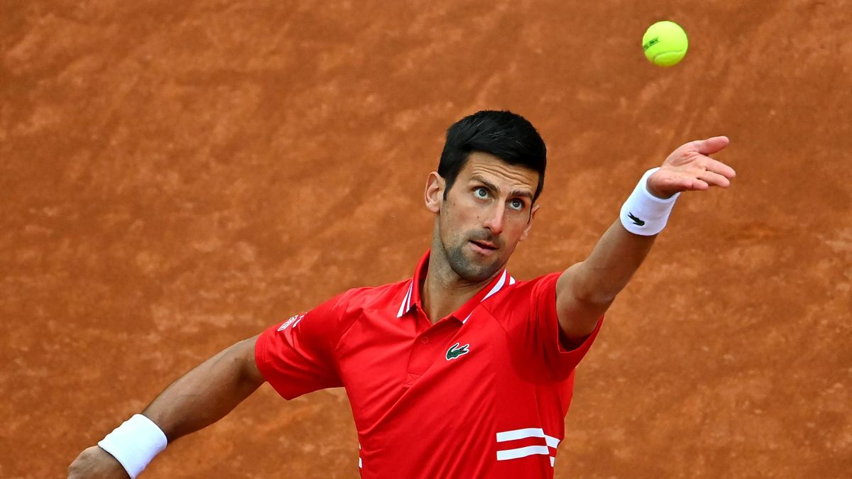 Novak Djokovic beim ATP-Turnier in Rom