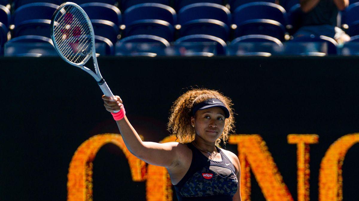 Naomi Osaka à l'Open d'Australie 2021