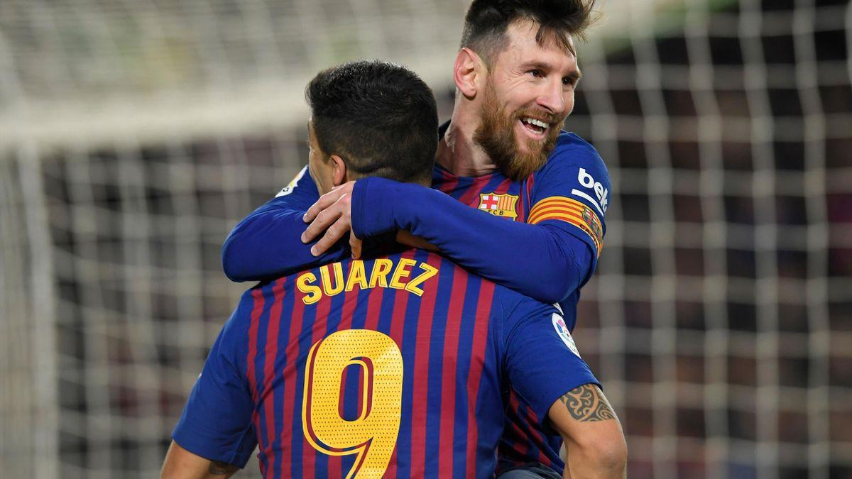 Luis Suarez und Lionel Messi