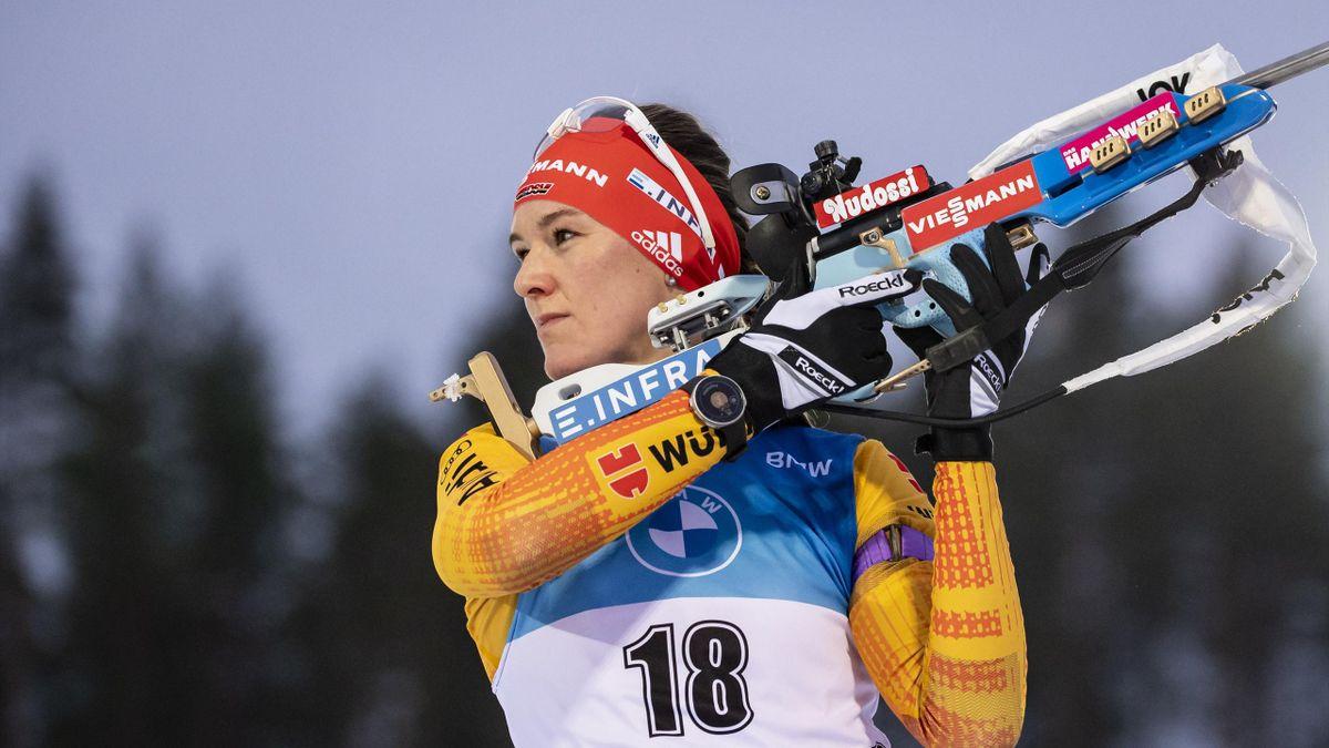 Denise Herrmann in Kontiolahti 2020