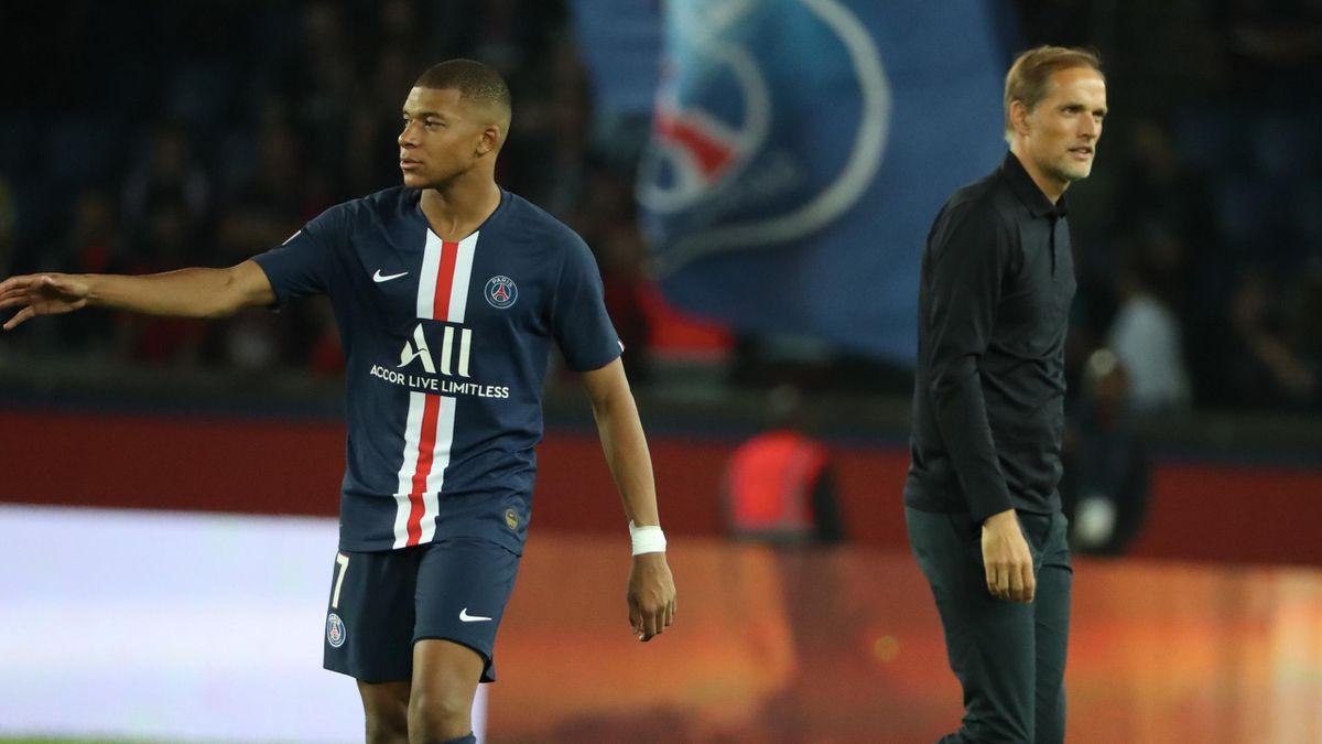 PSG: Kylian Mbappé, Thomas Tuchel