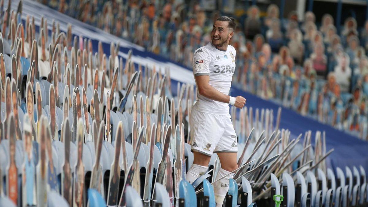 Jack Harrison a marcat al treilea gol al meciului Leeds - Fulham 3-0