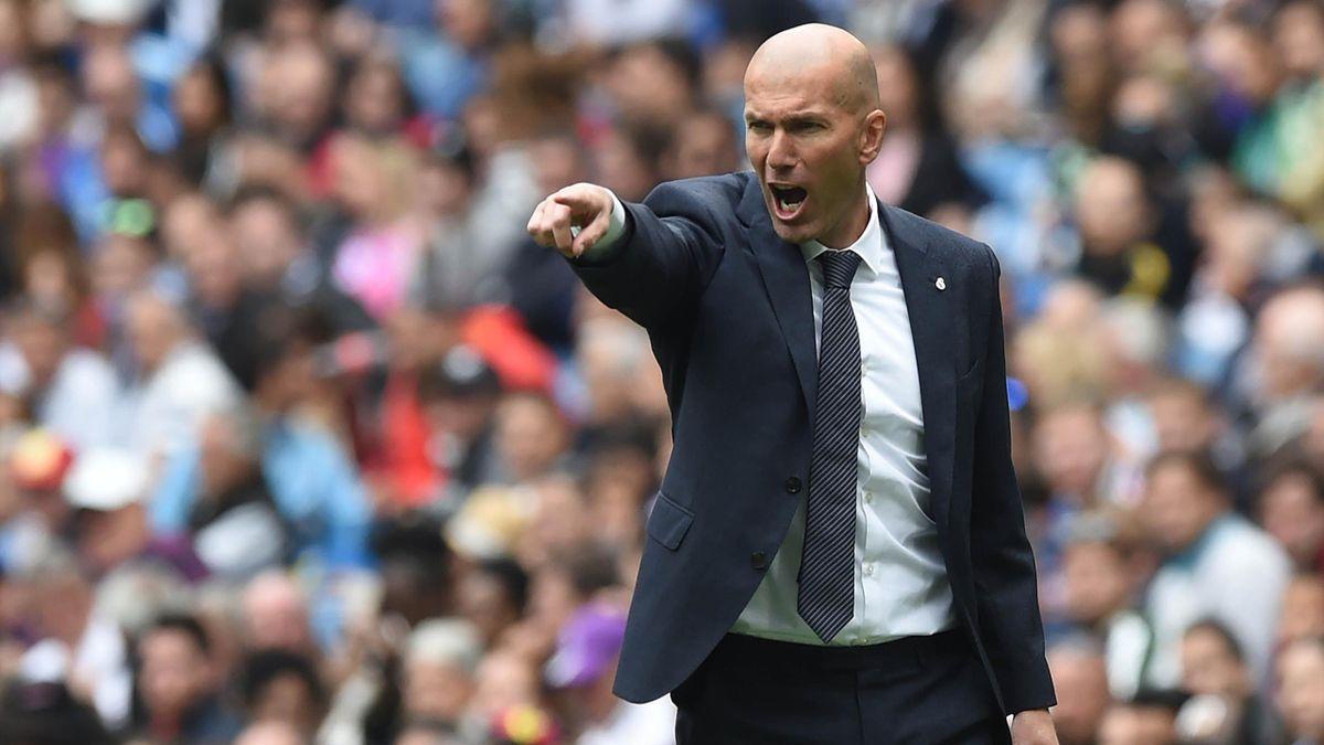 Zinédine Zidane bei Real Madrid