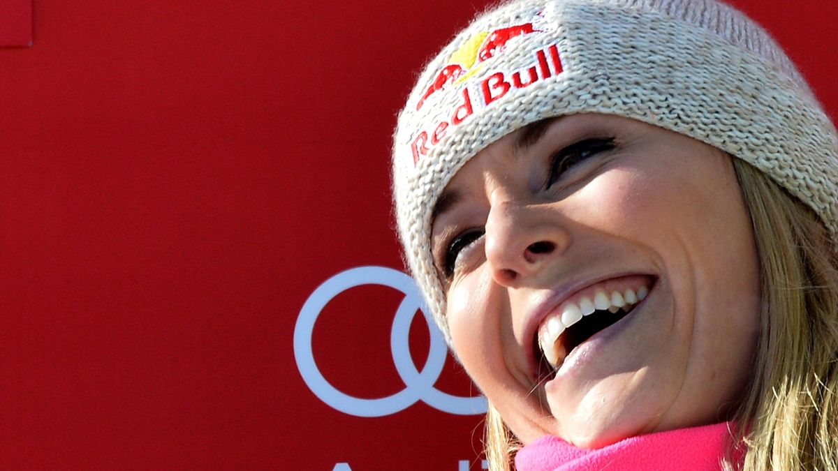 Lindsey Vonn equalled Annemarie Moser-Pröll record in Cortina D'Ampezzo on January 18, 2015