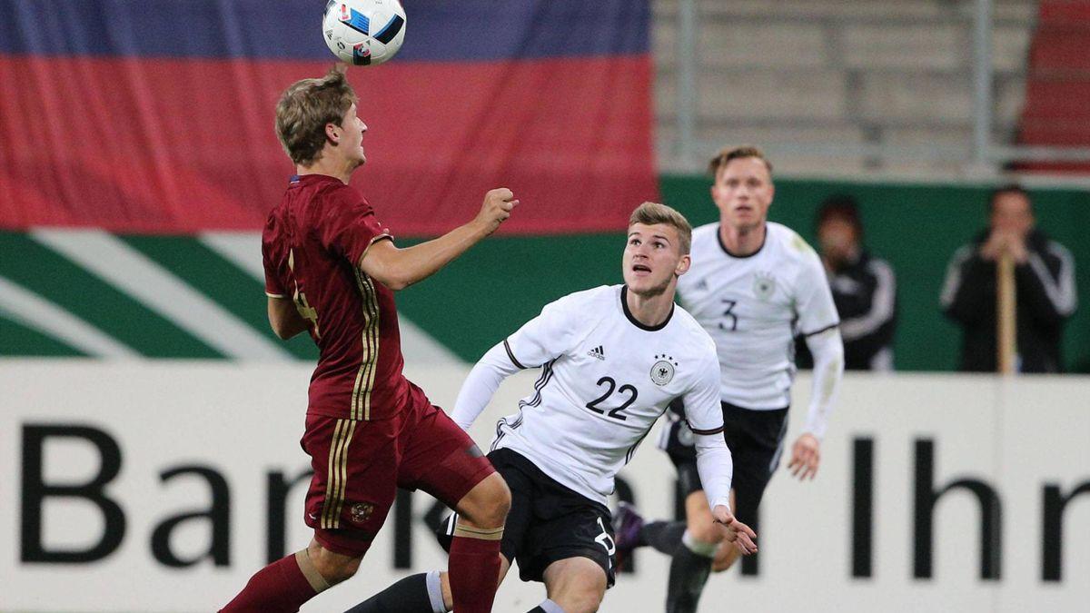 Timo Werner reist angeschlagen von der deutschen U21 ab