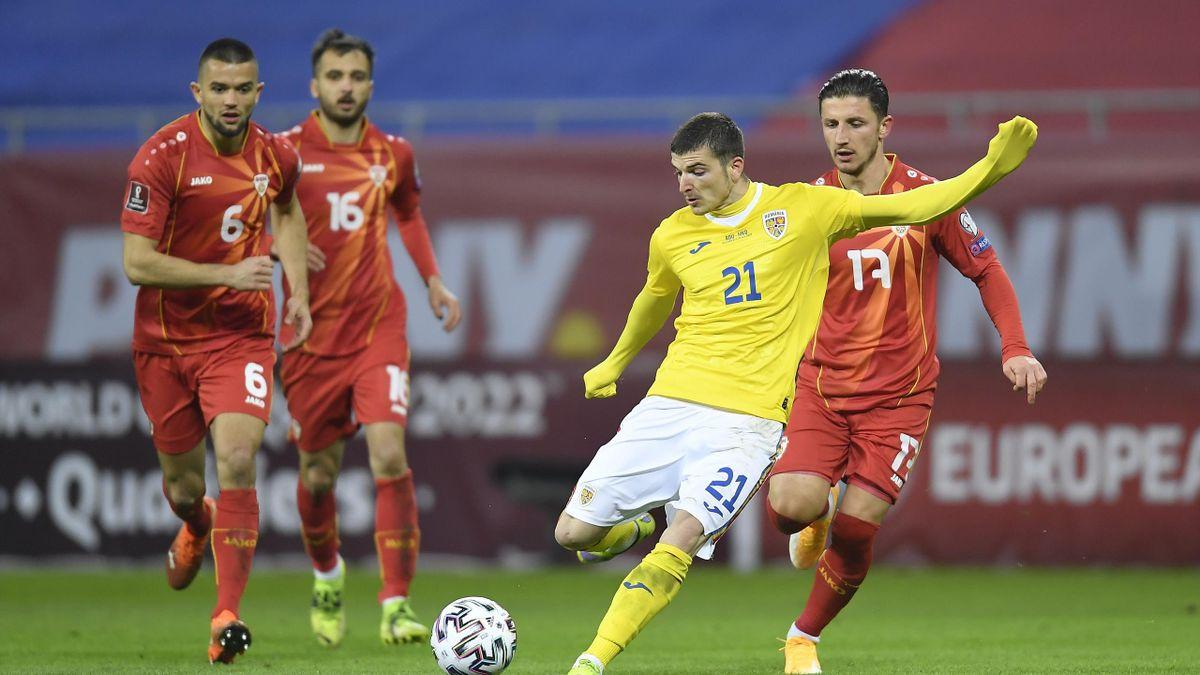 Valentin Mihăilă a debutat cu gol în tricoul României