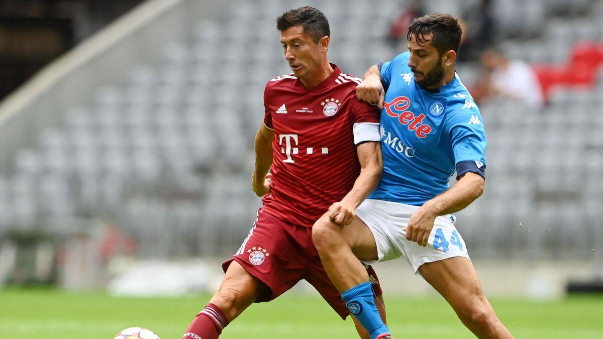 Bayern im Test gegen Napoli