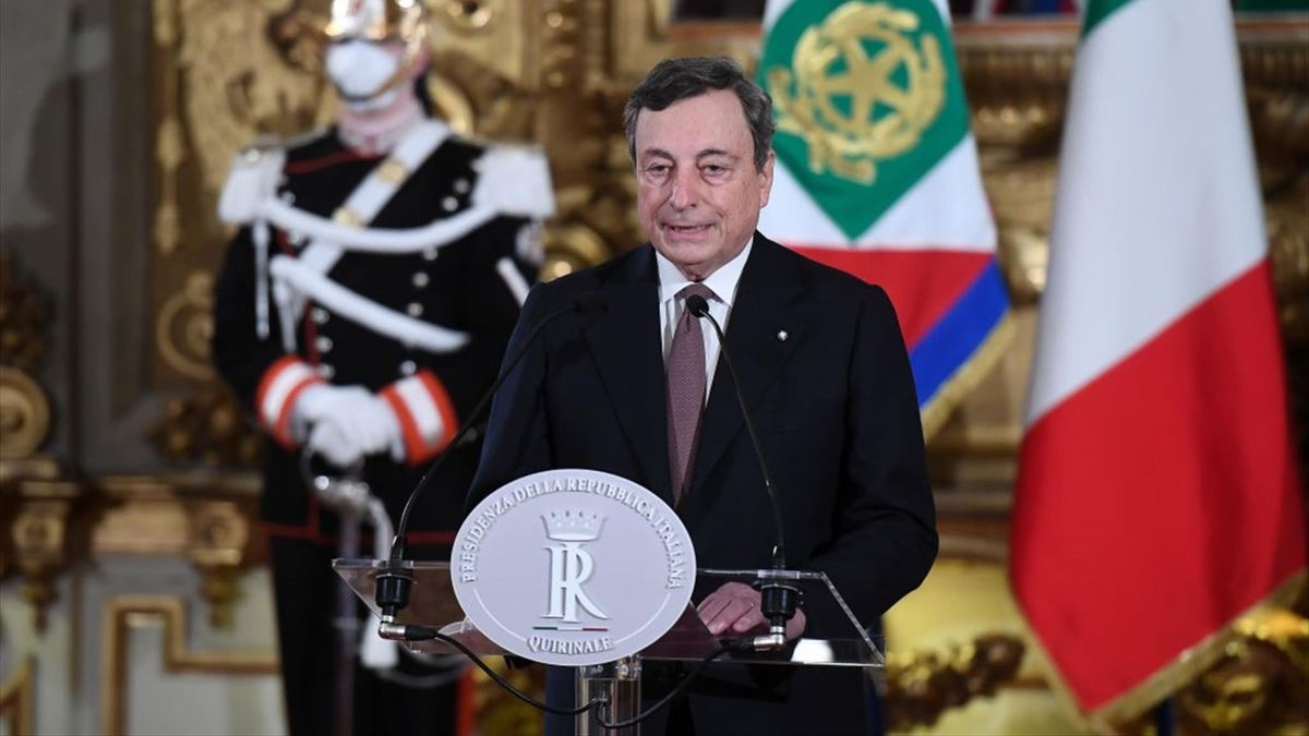Mario Draghi - Primo Ministro Italia 2021 - Getty Images