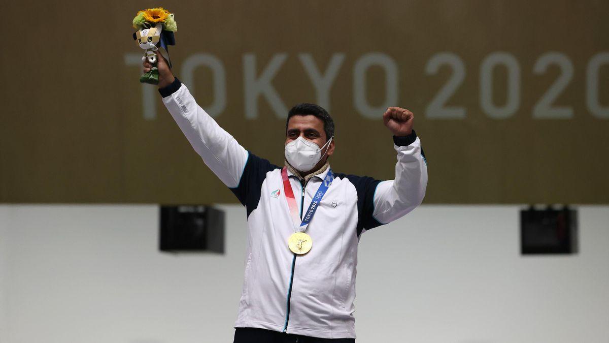 Javad Foroughi hat Olympia-Gold mit der Luftpistole über 10m gewonnen