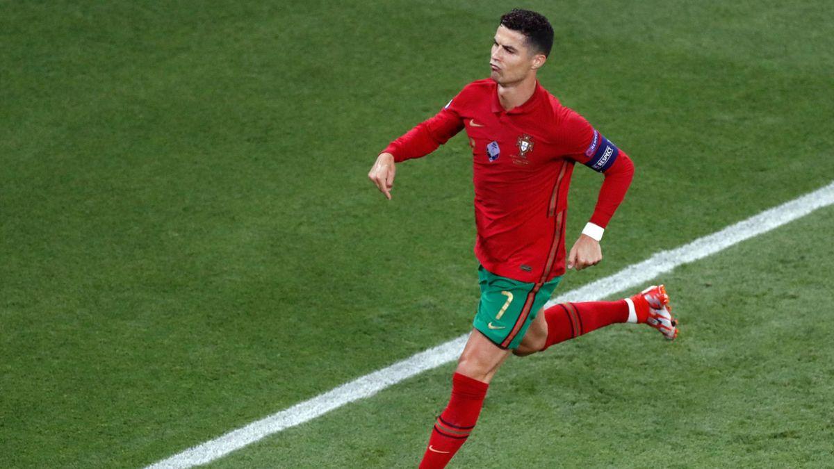 Ronaldo opens the scoring