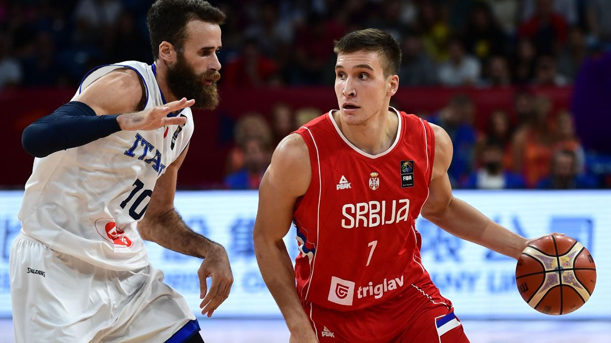 Datome e Bogdanovic, Italia-Serbia Eurobasket 2017