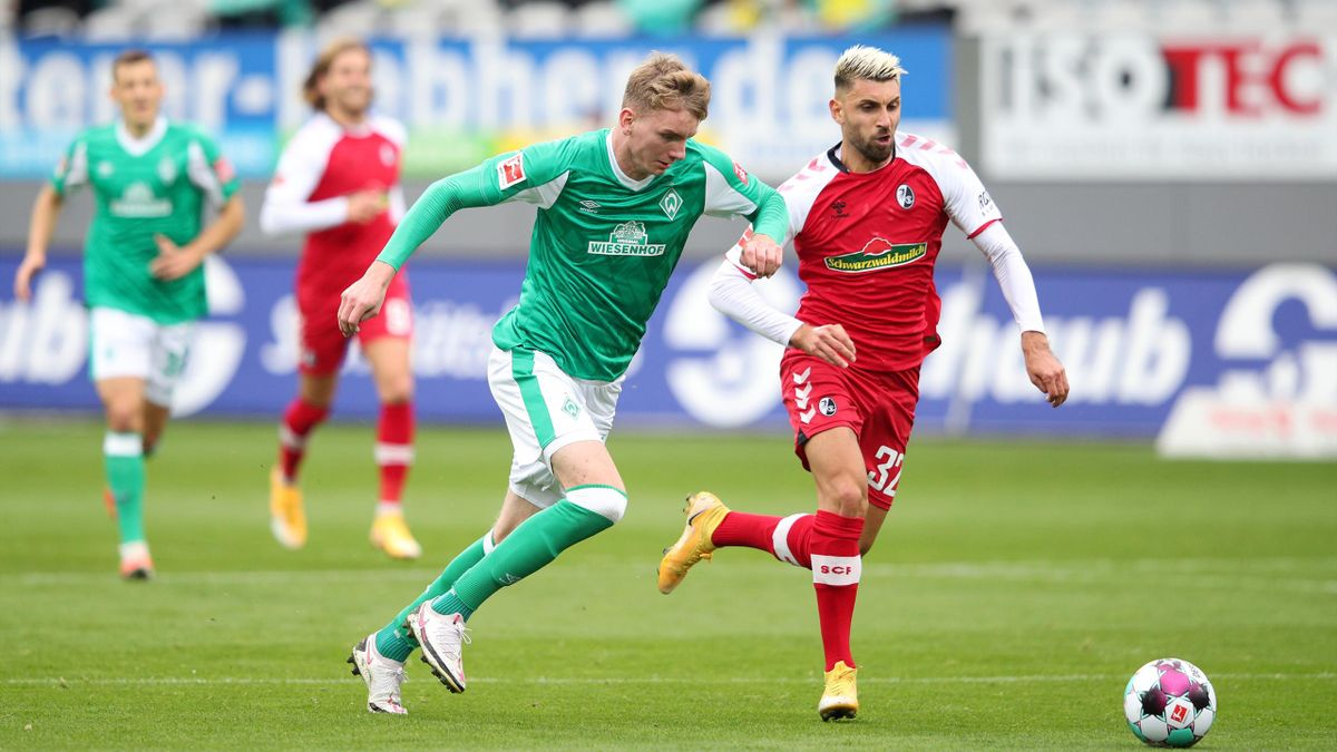 Freiburg und Bremen trennen sich 1:1