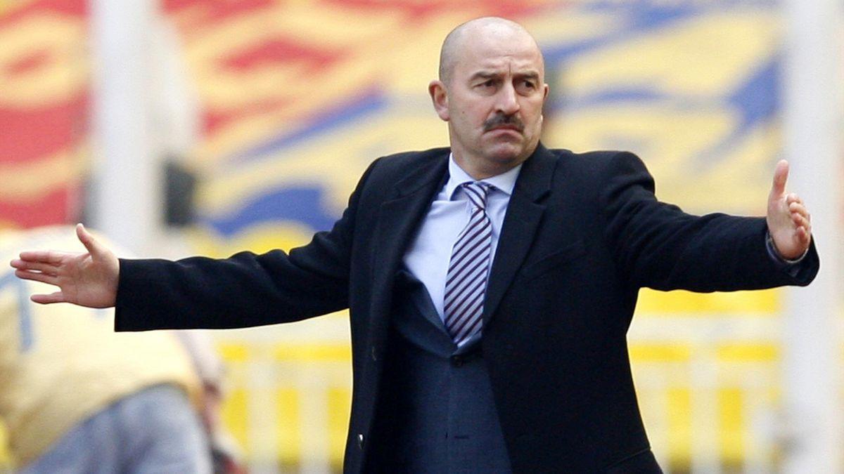 Станислав Черчесов в «Спартаке» (2007-й год)