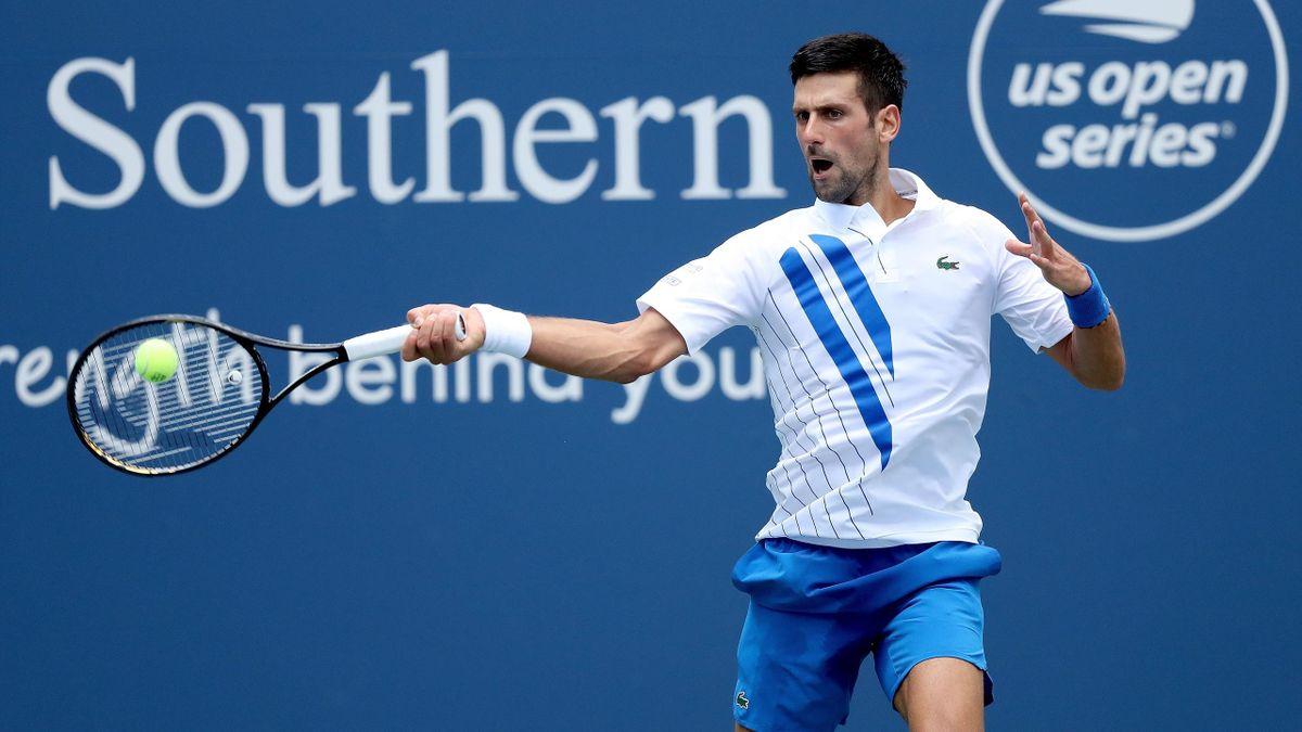 Novak Djokovic beim ATP Masters Cincinnati