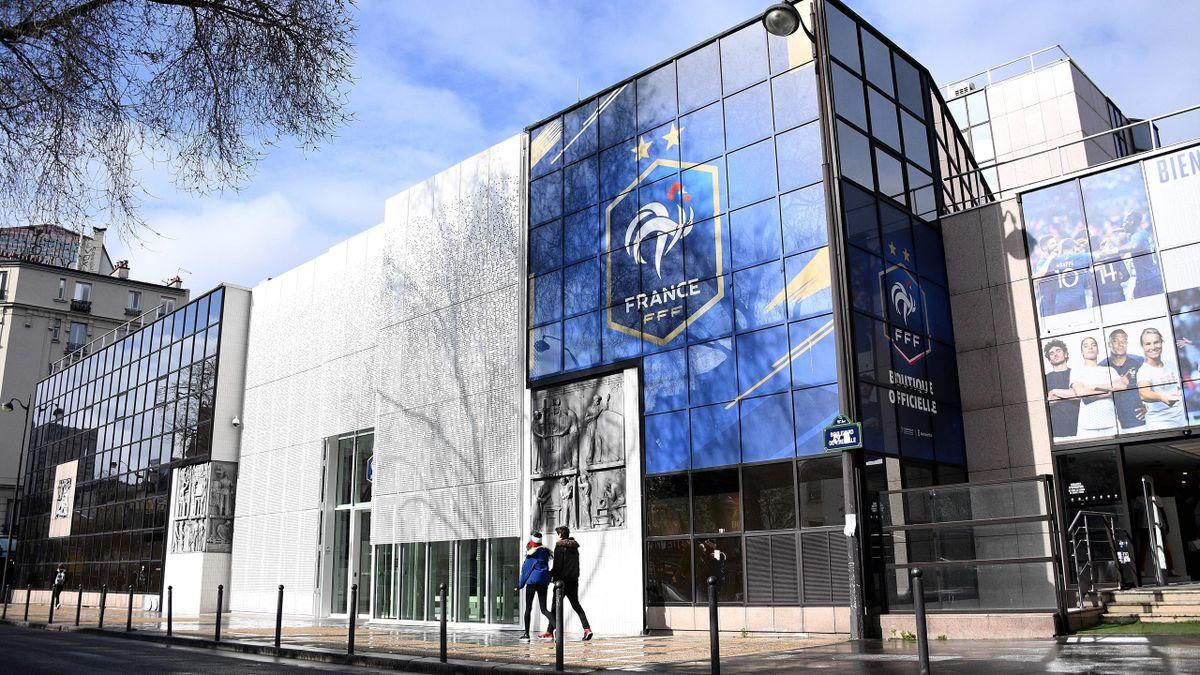 Le siège de la FFF à Paris.
