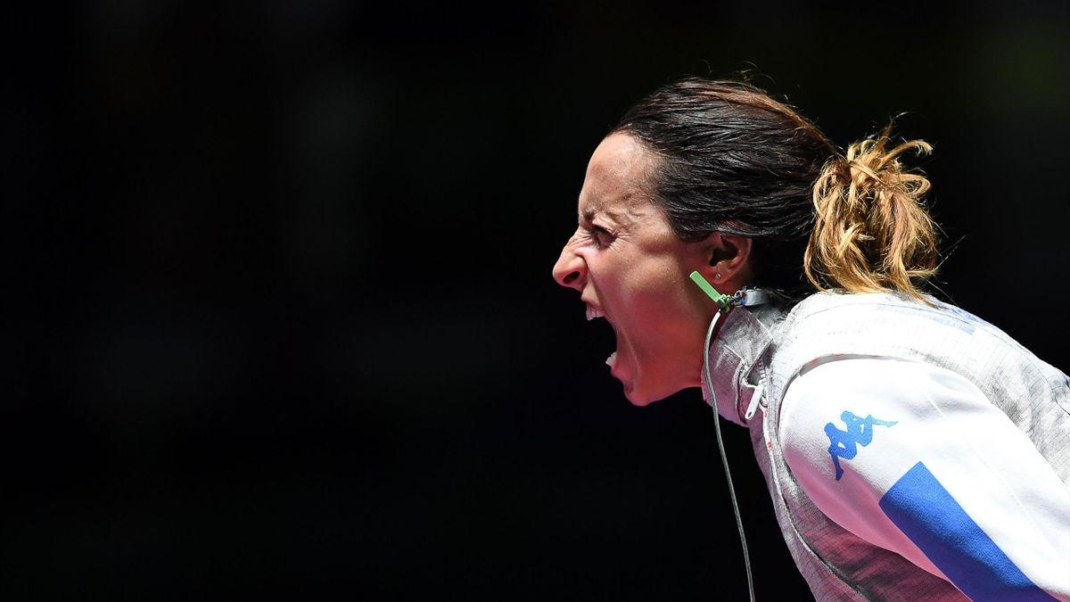 Elisa Di Francisca, urlo Rio 2016