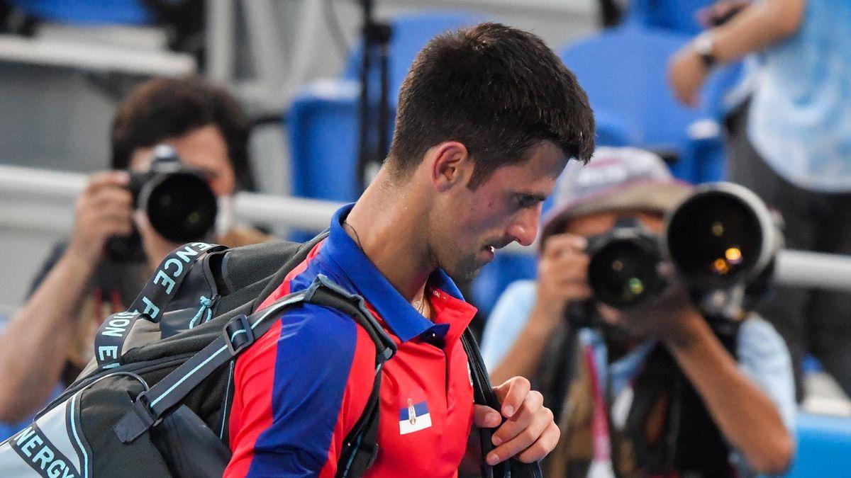 Novak Djokovic wird nicht mehr im Spiel um Bronze im Mixed antreten