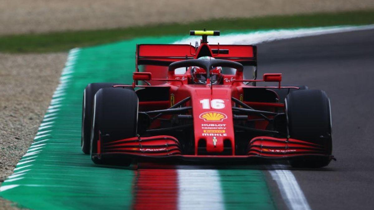 Charles Leclerc (Ferrari) - GP of Emilia-Romagna 2020