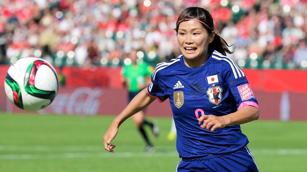 Nahomi Kawasumi (Japan) bei der Fußball-WM 2015