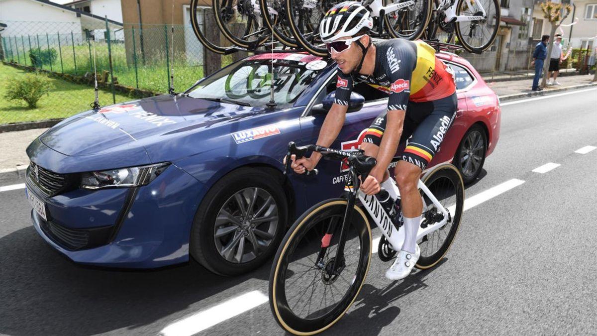 Dries De Bondt all'ammiraglia - Giro d'Italia 2021