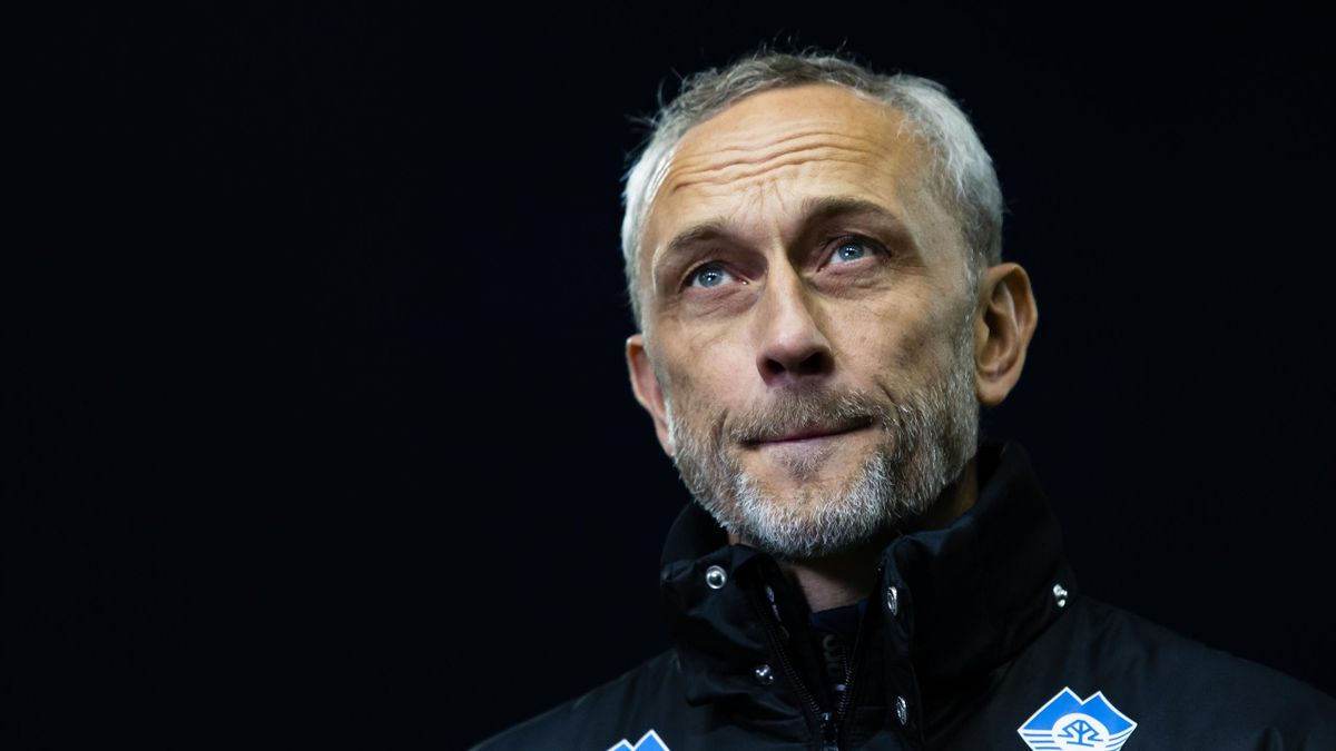 Aalesunds trener Lars Bohinen