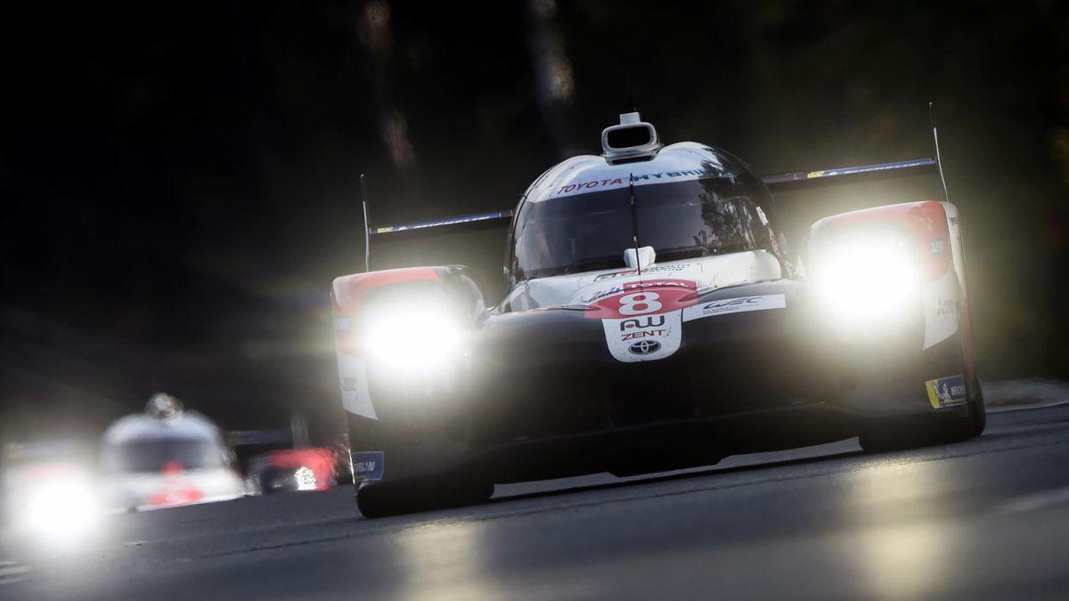 Sébastien Buemi (Toyota n°8) lors de la 88e édition des 24h du Mans