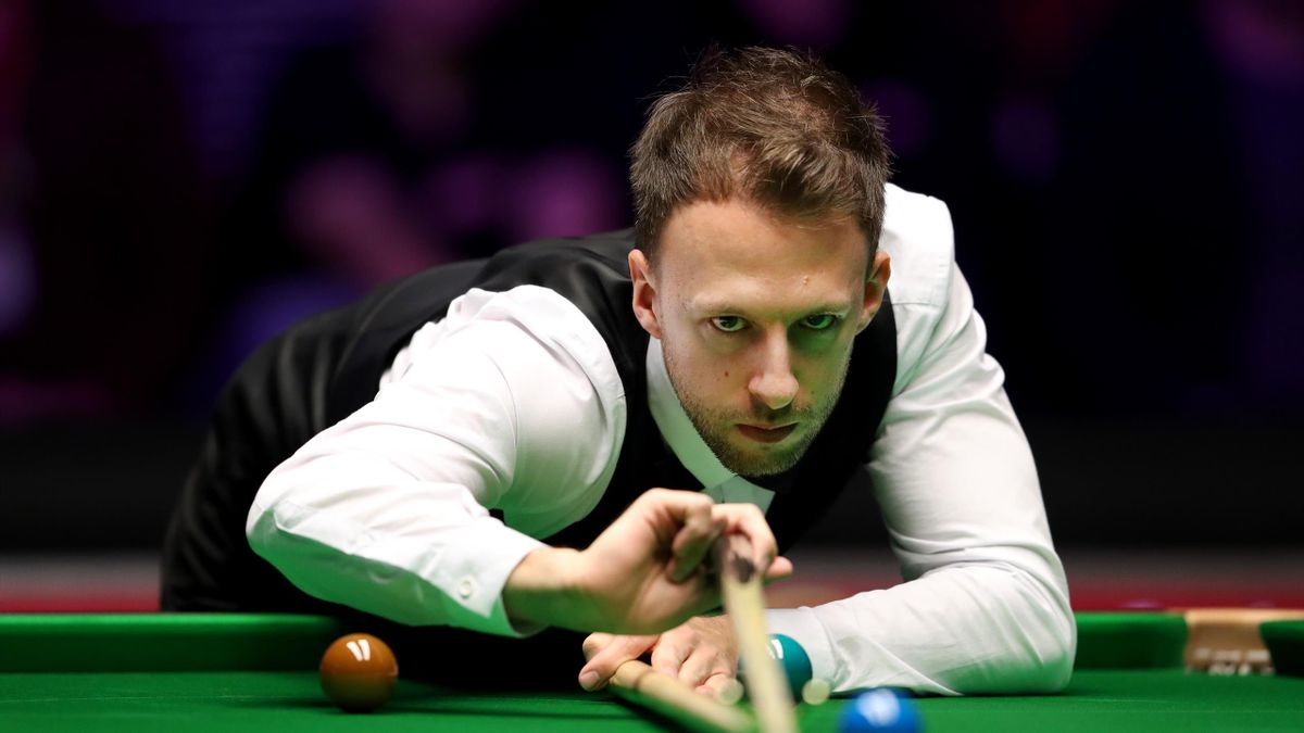 Judd Trump at the World Snooker Championship