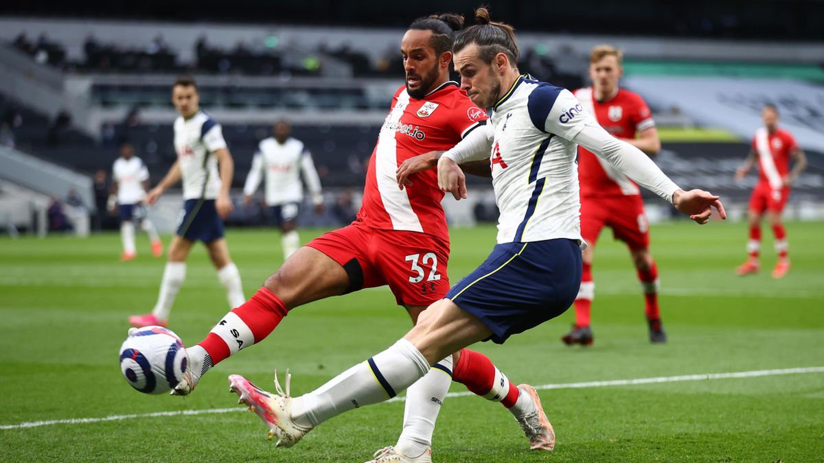 Gareth Bale (Tottenham) face à Southampton