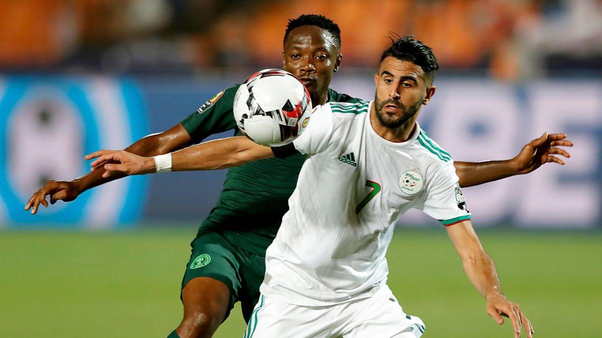 Riyad Mahrez im Afrika-Cup.