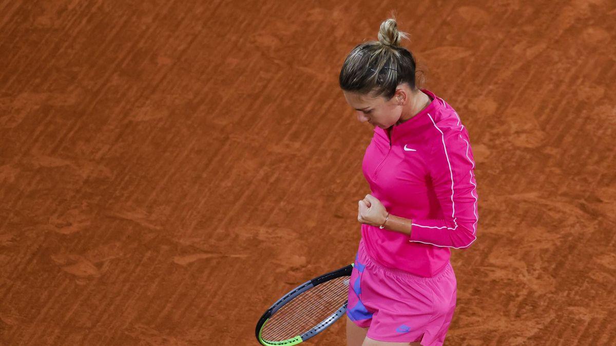 French Open 2020 Simona Halep Crushes Amanda Anisimova In 56 Minutes Eurosport