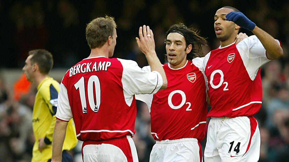 Bergkamp, Pires și Henry (sezonul 2003-2004)