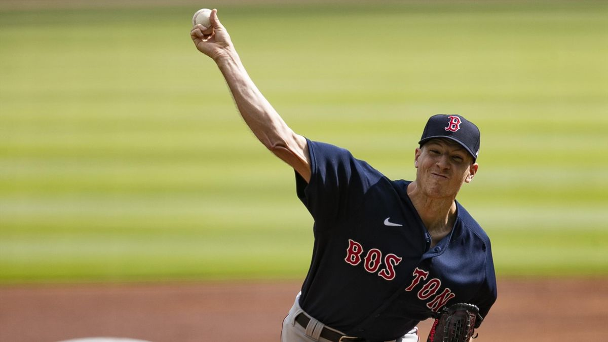 Nick Pivetta von den Boston Red Sox