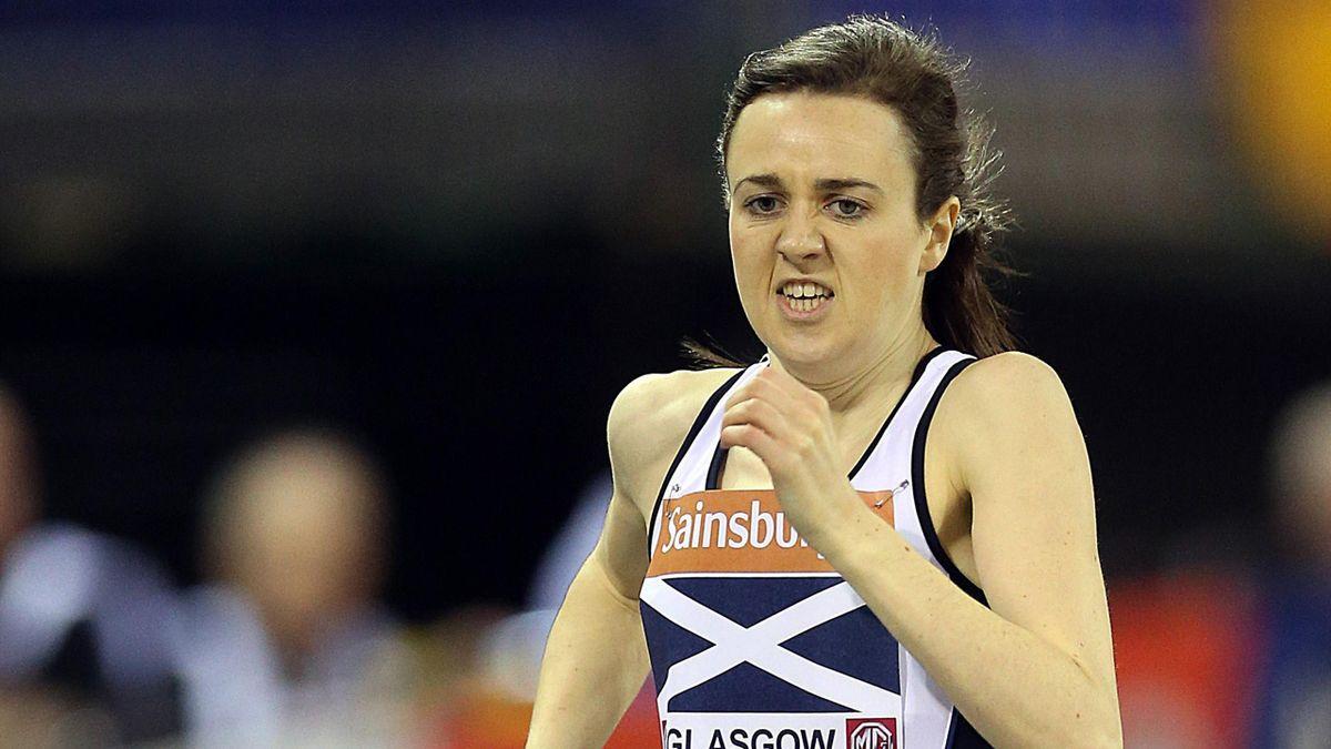 Laura Muir of Britain (AFP)
