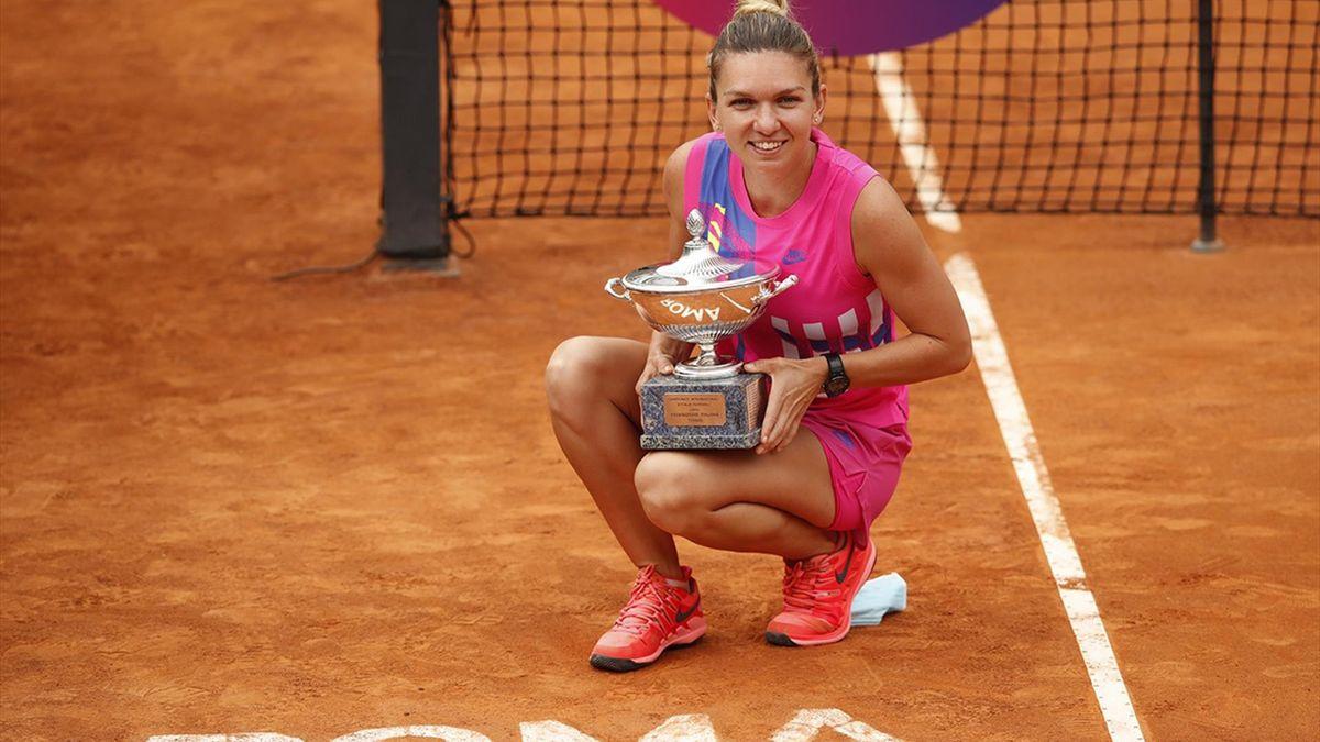 Simona Halep e cea mai în formă jucătoare din lume înainte de Roland Garros